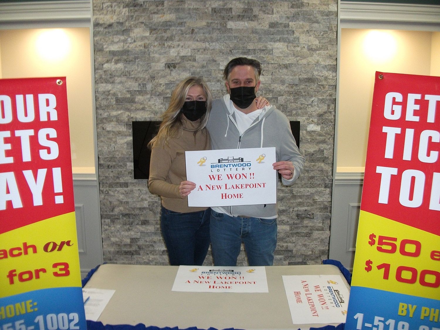 Congratulations to Craig & Mary Moro, our Dream Home winners!